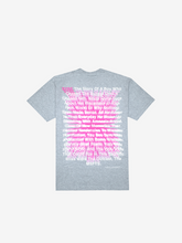 Load image into Gallery viewer, SYRE TOUR T-SHIRT, GREY
