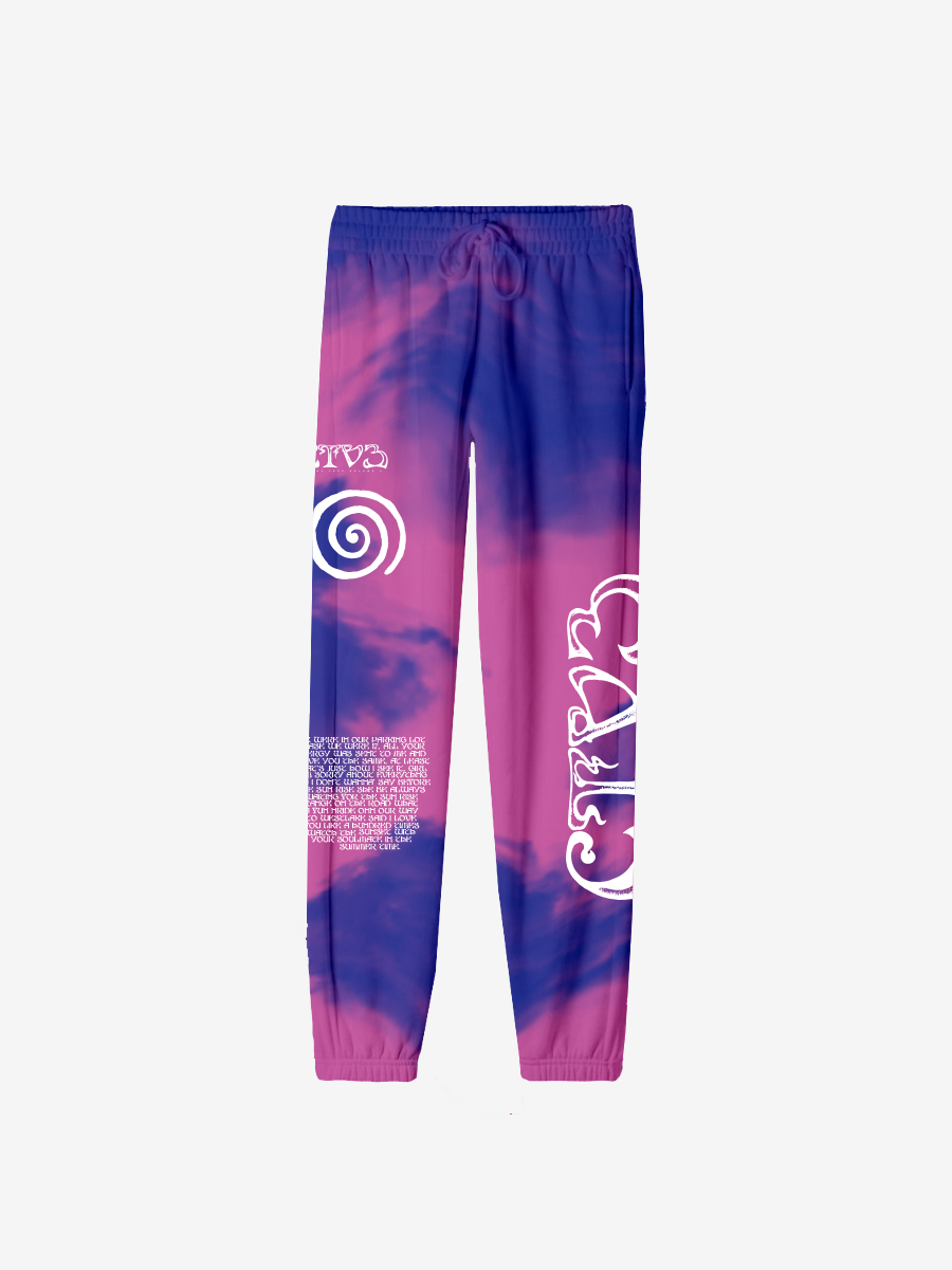 CTV3: COOL TAPE VOLUME 3 TOUR JOGGER, TIE DYE