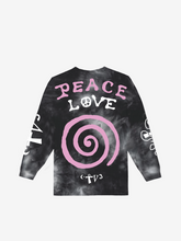 Load image into Gallery viewer, CTV3: COOL TAPE VOLUME 3 PEACE AND LOVE, TIE DYE PINK