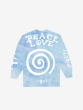 Load image into Gallery viewer, CTV3: COOL TAPE VOLUME 3 PEACE AND LOVE, TIE DYE BLUE