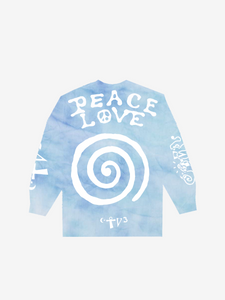 CTV3: COOL TAPE VOLUME 3 PEACE AND LOVE, TIE DYE BLUE