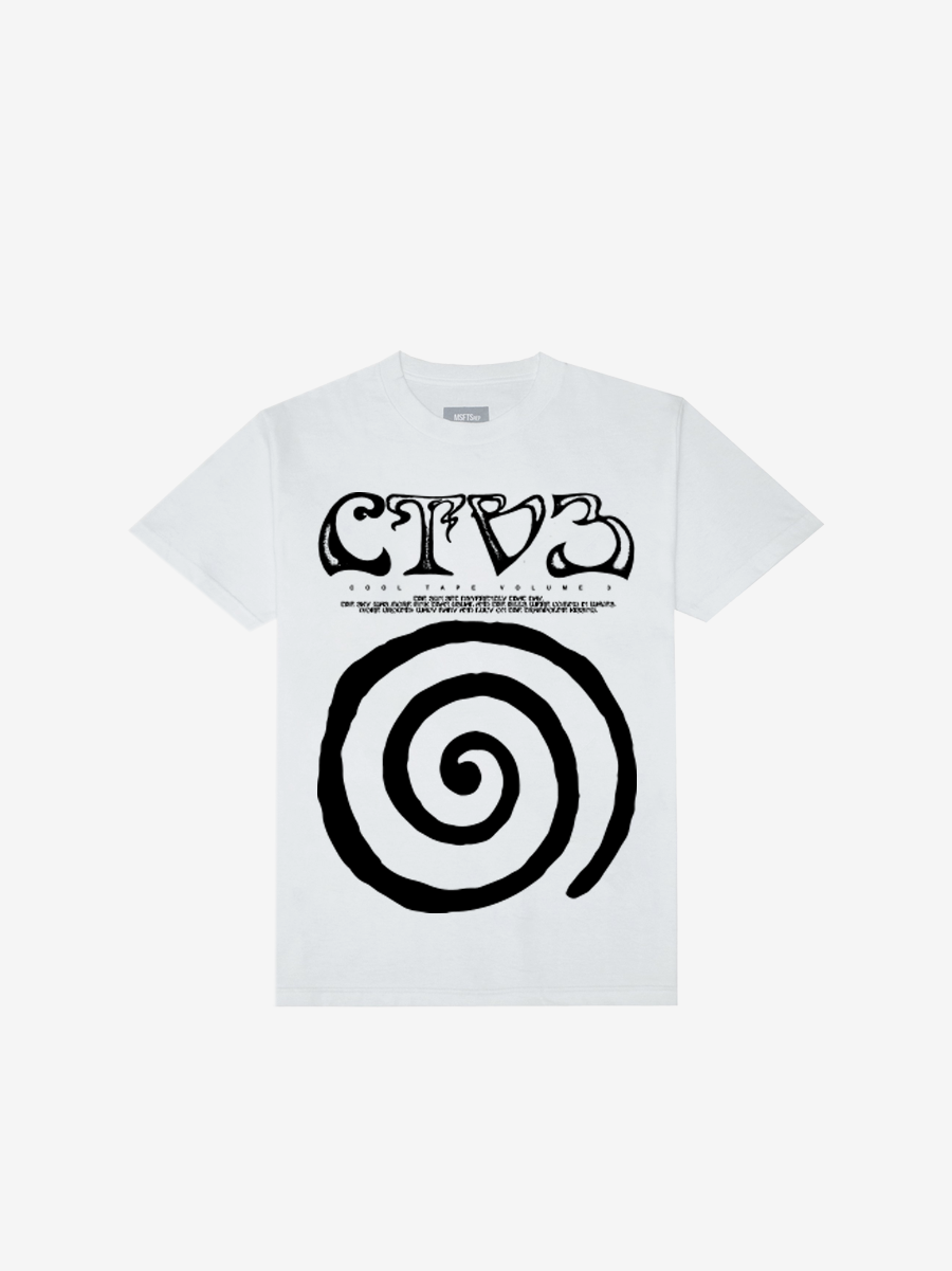 CTV3: COOL TAPE VOLUME 3 TOUR SHIRT, WHITE + DIGITAL ALBUM
