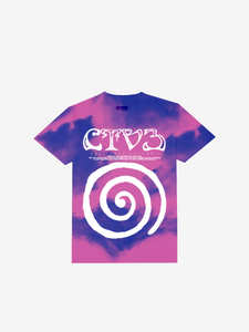 CTV3: COOL TAPE VOLUME 3 TOUR SHIRT, TIE DYE