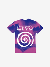 Load image into Gallery viewer, CTV3: COOL TAPE VOLUME 3 TOUR SHIRT, TIE DYE