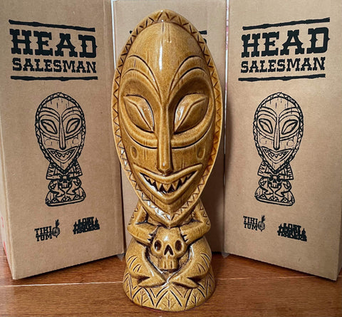 Tiki Tum Artist Series Head Salesman (Shipping Included)