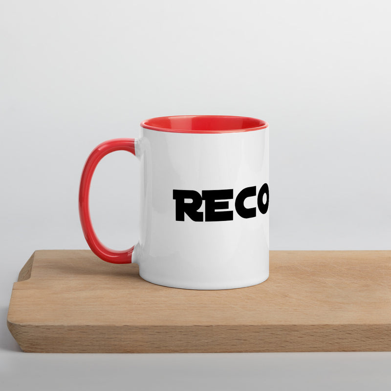 Recognize Game Mug with Color Inside