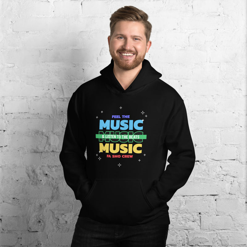 Feel the Music Hoodie