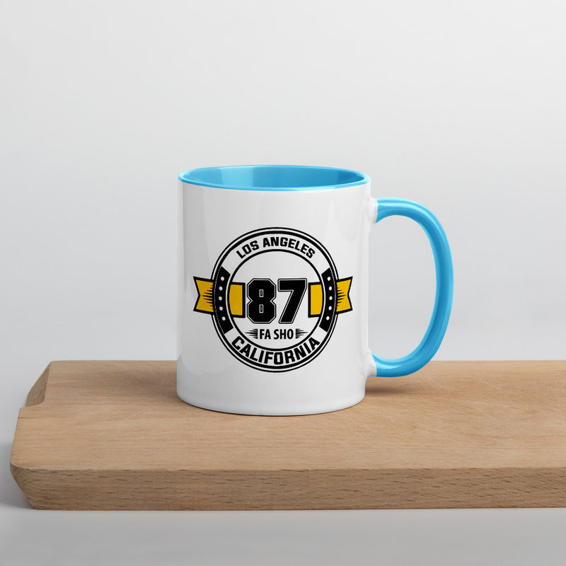 Los Angeles 87 Fa Sho Mug with Color Inside