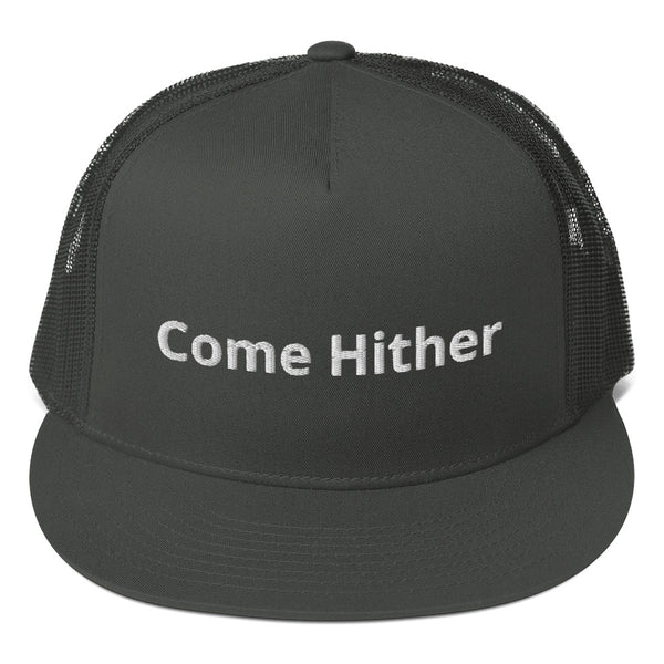 Come Hither Mesh Back Snapback