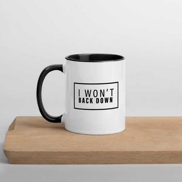 Won't Back Down Mug