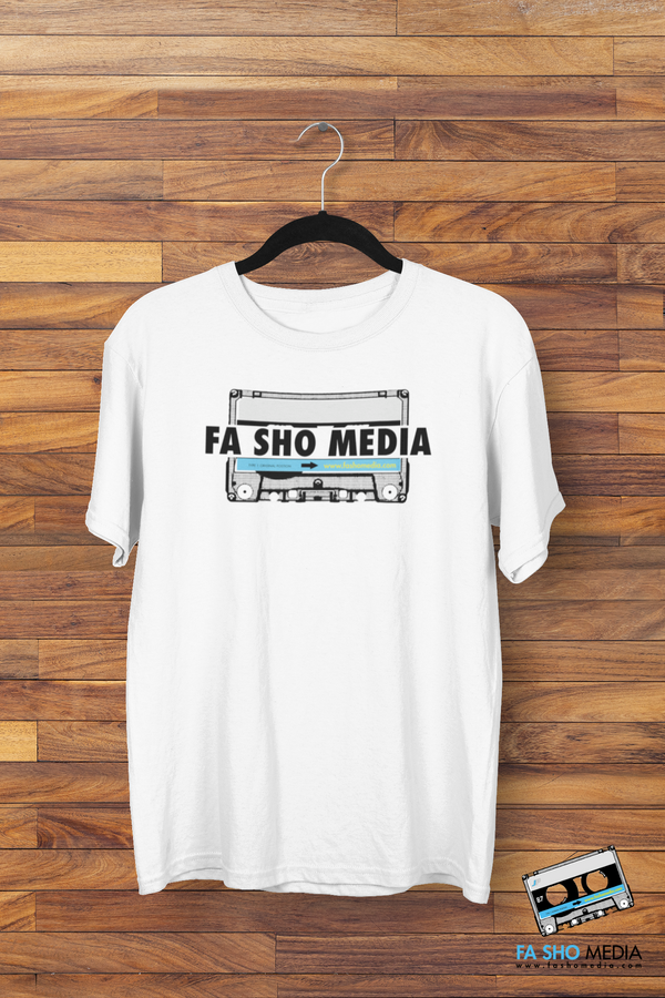 Fa Sho Media Big Cassette Shirt