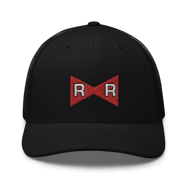 Dragon Ball Z Red Ribbon Army Logo Trucker Hat