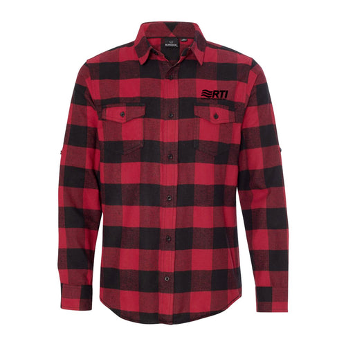 * PREORDER CLOSED - Burnside Flannel Shirt - Red Buffalo Plaid