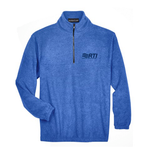 * PREORDER CLOSED - Ultra Club Fleece Quarter Zip - Royal