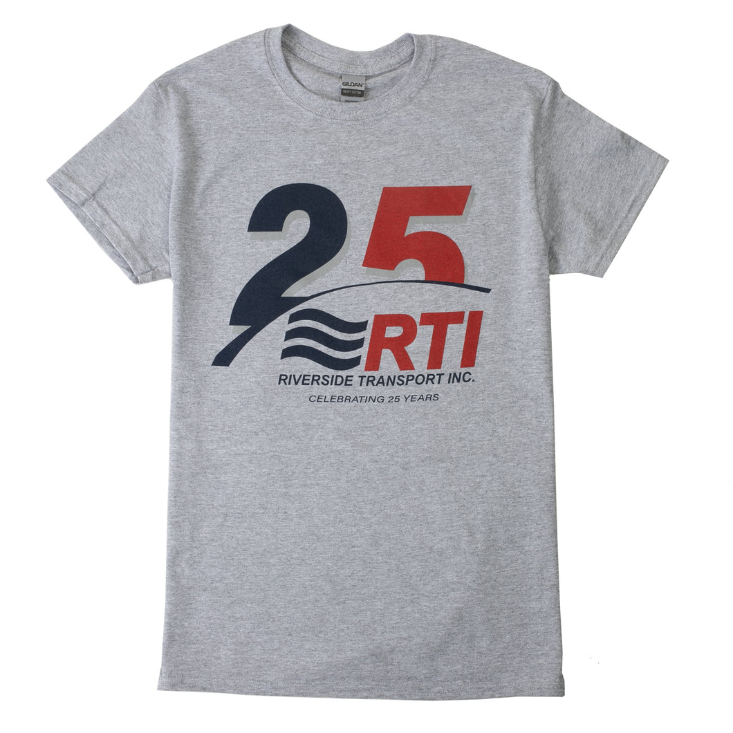 Grey 25 Year RTI T-Shirt