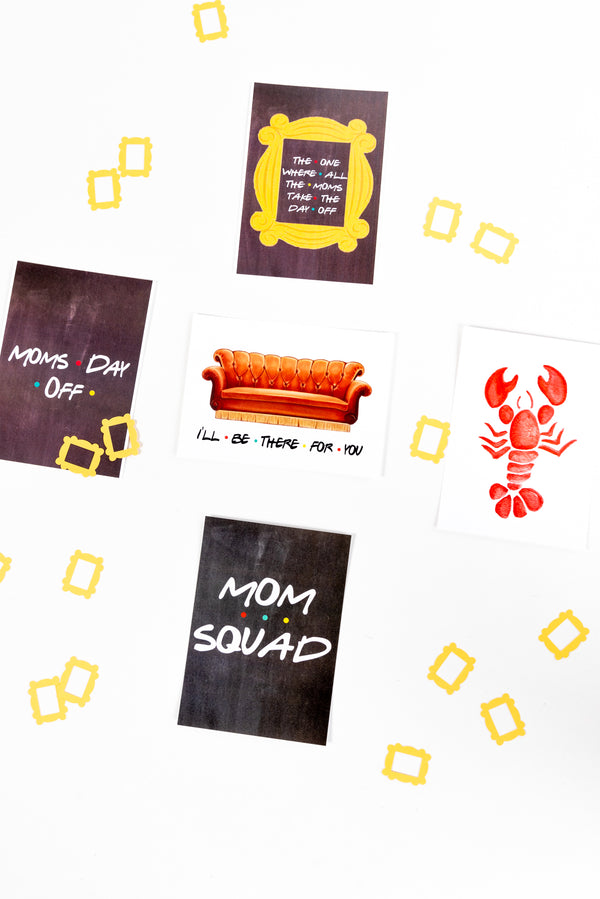 Friends Themed MDO Printables