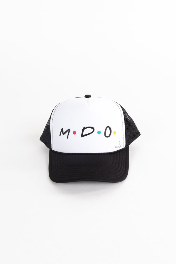 Friends Themed MDO Trucker Hat
