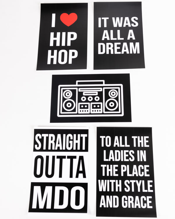 Straight Outta MDO Printable Posters