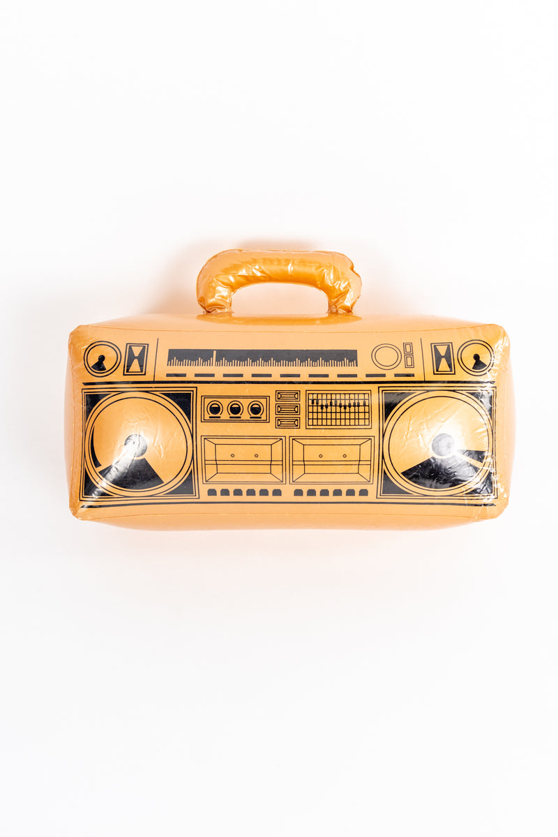 Inflatable 90's Boom Box and Mobile Phone