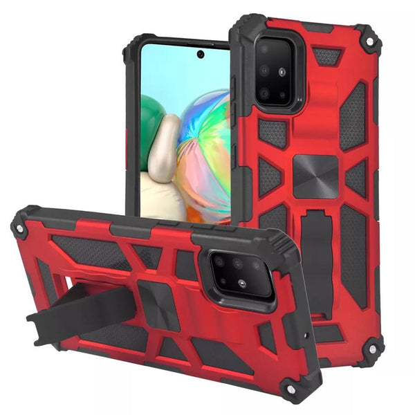 Samsung A10 Shockproof Case With Magnetic Stand Holder