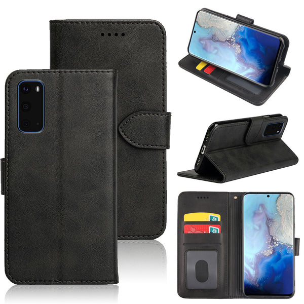 Samsung S20 FE Flip Diary Wallet Case With Card Slot
