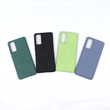 Liquid Soft Silicone Candy Color Back Case For Samsung S20
