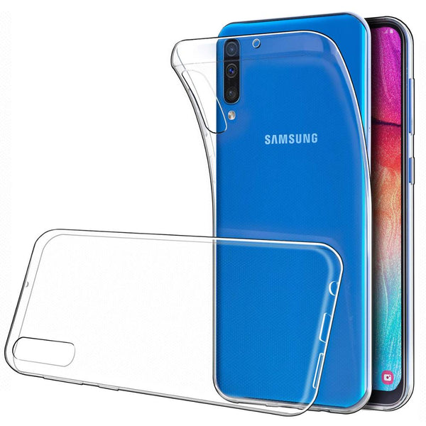 Samsung A90 5G CLEAR JELLY Soft TPU Back Case