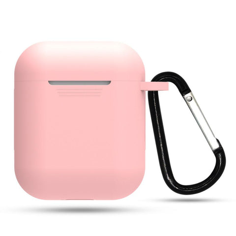 Airpod Silicone Skin Case Cover With Keychain