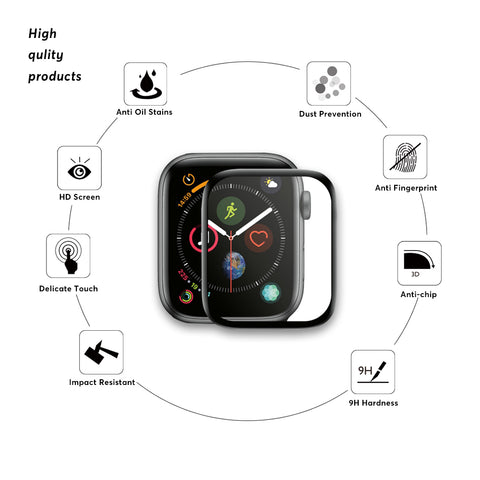 3D Full Screen Protector For Apple Watch