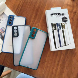 Space 2 Series Translucent Matte Skin Shockproof Case For iPhone X/XS