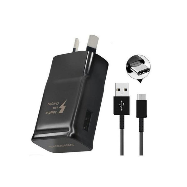 USB TYPE C Charging Cable with Fast Charging Wall Adapter