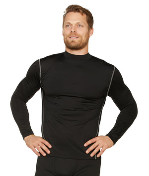 Bear Long Sleeve Mock Neck