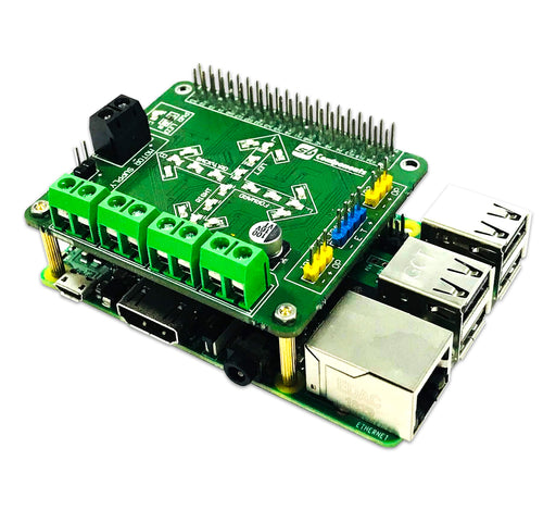 Motorshield for the Raspberry Pi