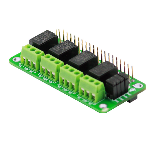 Relay 4 Zero - 4 Channel 3V Relay Board for Raspberry Pi