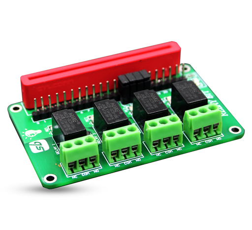 Relay Bit - 4 Channel 3V Relay Board for Micro:bit