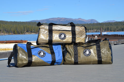 Scratch'd Anchor Recycled Sail Bags - Signature Duffle