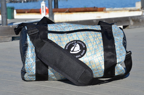 Scratch'd Anchor – Compact Duffle