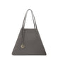 Frida Tote Leather Bag asphalt grey