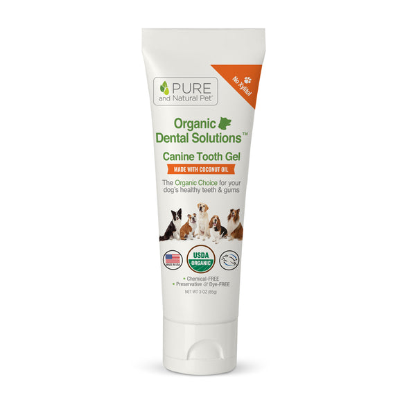 Organic Dental Solutions™ Canine Tooth Gel - Pure and Natural Pet