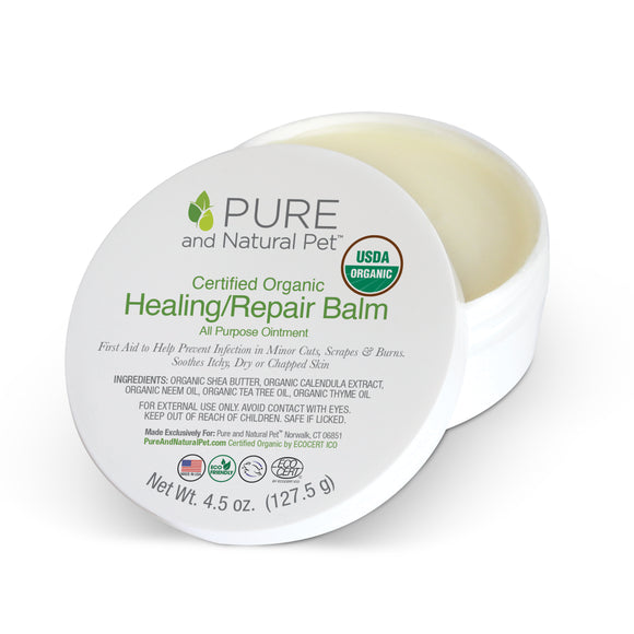Certified Organic Healing/Repair Balm - Pure and Natural Pet