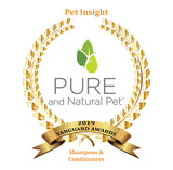 Fragrance Free Hypoallergenic Organic Shampoo - Pure and Natural Pet