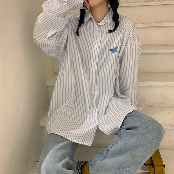 Vintage Striped Shirts - 4b4