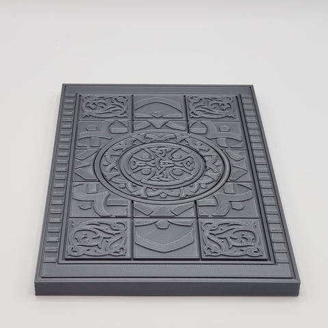 ORNAMENTAL FLOOR TILE