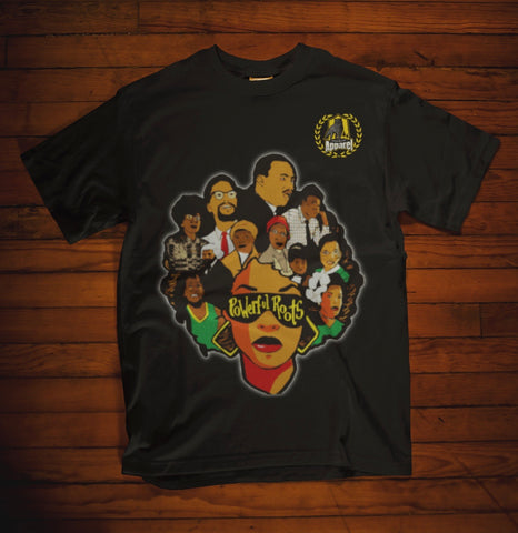 THE POWERFUL ROOTS TEE