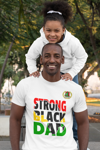 STRONG BLACK DAD TEES