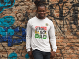STRONG BLACK DAD LS TEE
