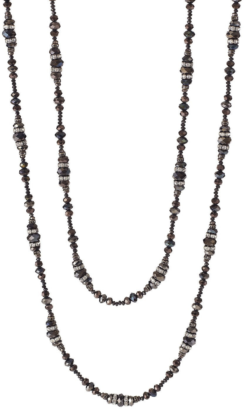 Jeannette Necklace, Hematite
