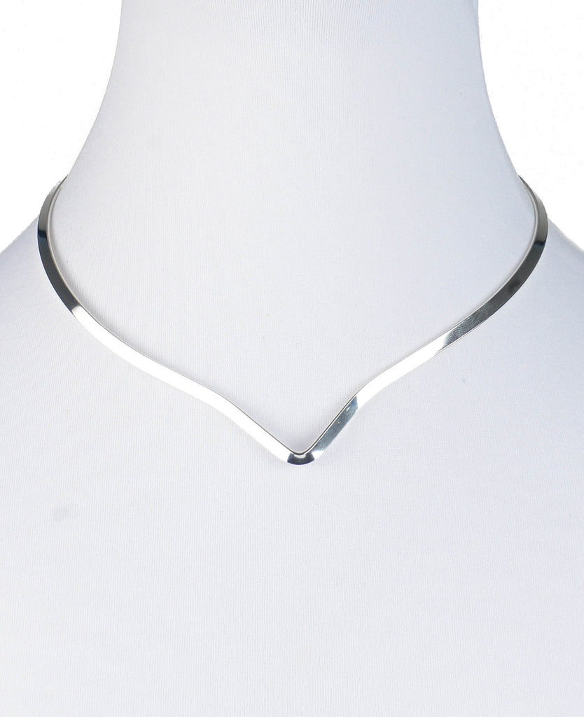 Sterling Silver Plated Collar