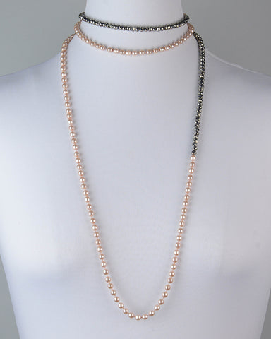 Blush/Antique Silver