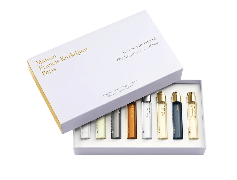 The Fragrance Wardrobe 8-Piece Discovery Collection For Him by Maison Francis Kurkdjian